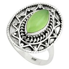 Clearance Sale- ehnite 925 sterling silver ring jewelry size 8.5 d13232