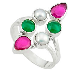 Clearance Sale- 5 sterling silver ring size 9 d13727