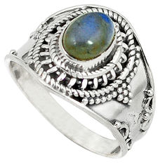 Clearance Sale-  labradorite ring jewelry size 7 d8715