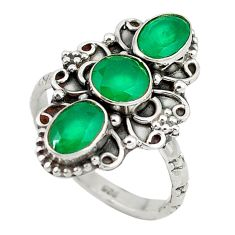 Clearance Sale- rling silver ring jewelry size 7.5 d8846