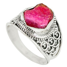 y rough 925 sterling silver ring jewelry size 8.5 d8989
