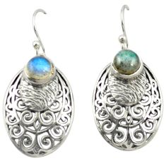 925 sterling silver natural blue labradorite dangle earrings jewelry m54630