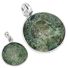 Roman coins ancient coinage 925 sterling silver pendant jewelry m70346