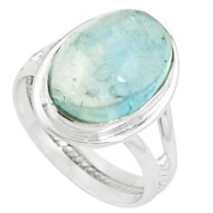 925 sterling silver natural untreated blue topaz ring jewelry size 9 m33609