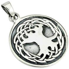 925 silver indonesian bali java island tree of life pendant jewelry p1007