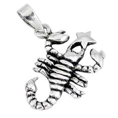925 sterling silver 3d moving charm style solid scorpion pendant jewelry p1985