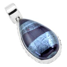 24.92cts natural ancestralite 925 sterling silver pendant jewelry p23416
