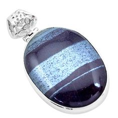 30.86cts natural ancestralite 925 sterling silver pendant jewelry p23417
