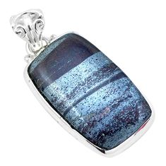 18.80cts natural ancestralite 925 sterling silver pendant jewelry p23419