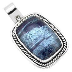 21.17cts natural ancestralite 925 sterling silver pendant jewelry p23420