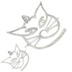 925 sterling silver indonesian bali style solid cat charm pendant jewelry p2457