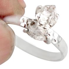 4.16cts natural white diamond 925 sterling silver tennis ring size 7 r1426