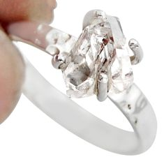 2.98cts natural white diamond 925 sterling silver tennis ring size 7 r1430