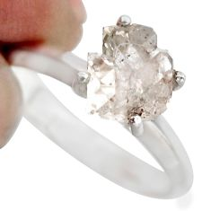 925 sterling silver 3.23cts natural white diamond tennis ring size 7 r1432