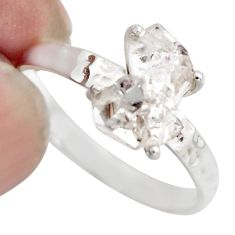 4.63cts natural white diamond 925 sterling silver tennis ring size 9 r1437