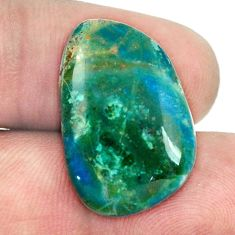 Natural 12.90cts opaline blue cabochon 23x15 mm fancy loose gemstone s1507