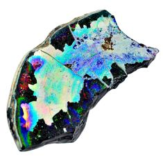 23.34cts dichroic glass multicolor cabochon 81x44 mm fancy loose gemstone s15204
