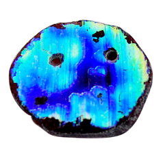4.45cts dichroic glass multicolor cabochon 16x15 mm fancy loose gemstone s15212