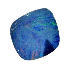 Natural 8.35cts doublet opal australian blue 18.5x16 mm loose gemstone s15619