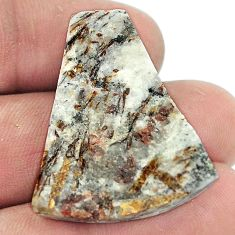 Natural 37.80cts astrophyllite (star leaf) rough 31x26 mm loose gemstone s1807