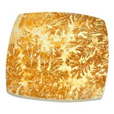 89.45ct germany psilomelane dendrite 45x47mm cushion loose gemstone s2003
