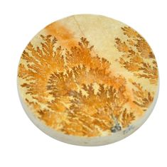 31.30cts germany psilomelane dendrite cabochon 27x27 mm loose gemstone s2022
