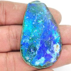 Natural 63.70cts roman glass cabochon 51x30 mm fancy loose gemstone s2150