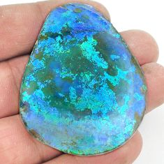 Natural 93.65cts roman glass cabochon 52x40 mm fancy loose gemstone s2156