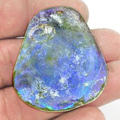 Natural 66.85cts roman glass cabochon 41x34 mm fancy loose gemstone s2158