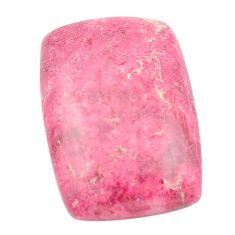 27.85cts thulite unionite, pink zoisite cabochon 27x18 mm loose gemstone s2425
