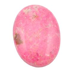 Natural 24.90cts thulite unionite, pink zoisite 26x18 oval loose gemstone s2431