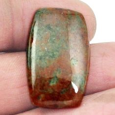 Natural 24.60ct grass garnet green cabochon 27x16.5 octagan loose gemstone s2936