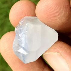 Natural 47.40cts dumortierite rough blue rough 24x21 mm loose gemstone s3245