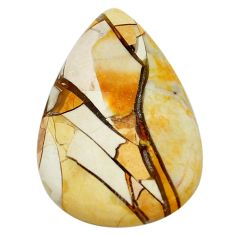 39.15cts brecciated mookaite (australian jasper) 43.5x29 loose gemstone s3438