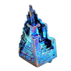 Natural 80.15cts bismuth crystal carving 29x17 mm fancy loose gemstone s3588