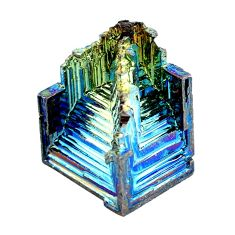 Natural 54.35cts bismuth crystal carving 24x19 mm fancy loose gemstone s3598