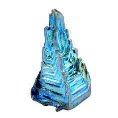 Natural 32.35cts bismuth crystal carving 25x12 mm fancy loose gemstone s3600