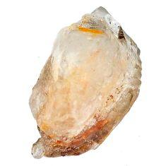 Natural 26.85cts elestial quartz divine crystal 24x14 mm loose gemstone s3934