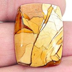 18.45cts brecciated mookaite (australian jasper) 24x18 mm loose gemstone s4246
