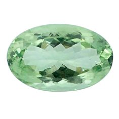 Natural 12.90cts amethyst green faceted 20x13 mm oval loose gemstone s4411