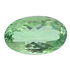 Natural 17.60cts amethyst green faceted 21x13 mm oval loose gemstone s4414