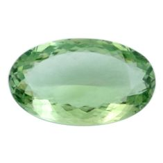 Natural 19.80cts amethyst green faceted 24x14 mm oval loose gemstone s4419