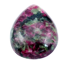 Natural 21.15cts eudialyte pink 24x18 mm pear loose gemstone s4628