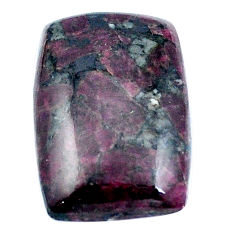Natural 21.30cts eudialyte pink 25x17 mm octagan loose gemstone s4629