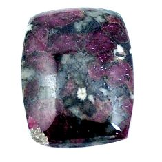Natural 15.15cts eudialyte pink 22x16 mm octagan loose gemstone s4638
