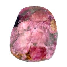 Natural 43.45cts tourmaline pink faceted 30x22.5 mm fancy loose gemstone s6755