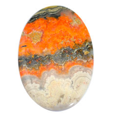 Natural 43.15cts bumble bee australian jasper 43x28 mm oval loose gemstone s7171