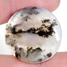 Natural 25.10cts plum agate multicolor cabochon 26x26 mm loose gemstone s7308