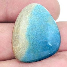 Natural 24.45cts dumortierite blue cabochon 27x21 mm fancy loose gemstone s7853