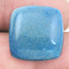 Natural 20.10cts dumortierite blue cabochon 19x19mm octagan loose gemstone s7860